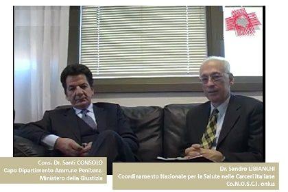 Intervista al Vice Capo del D.A.P., Cons. Dr. Santi Consolo