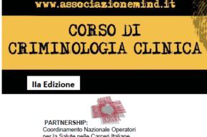 Corso di Criminologia Clinica <br> II edizione